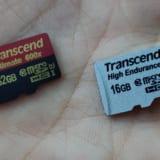 ドライブレコーダー用にTranscendのMicroSDHC買ったのでスペック通りの性能か調べてみた!