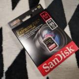 一眼レフ用にSanDisk EXTREME Pro買ったら結構良かった