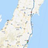 【2018年13回目】アテンザ給油毎の移動ログ(8/31)