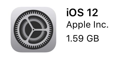 iPhone&iPad ProをiOS12にアップデートしたぞー!!