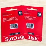 激安だけど安心のSanDiskのUSBメモリを購入。Windowsリカバリ用として最適!
